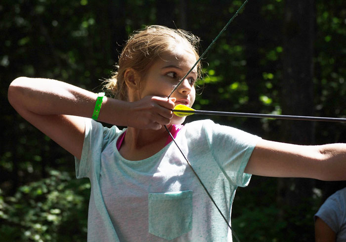 Archery at Summer Camp, Ontario