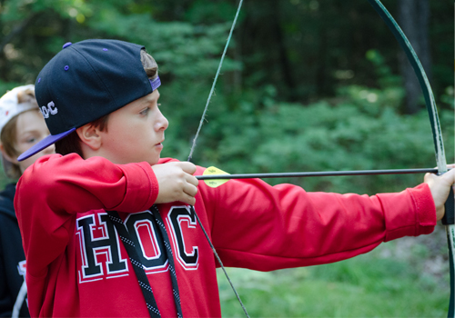 Archery, Summer Camp, Ontario