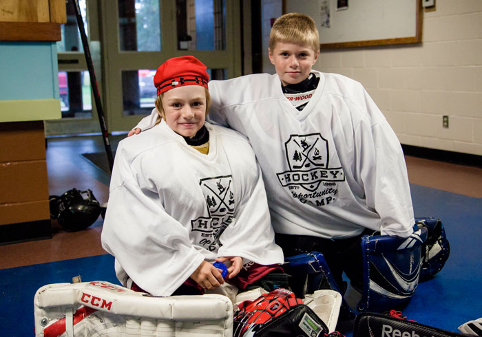 Goalie Prgram at Summer Camp, Ontario