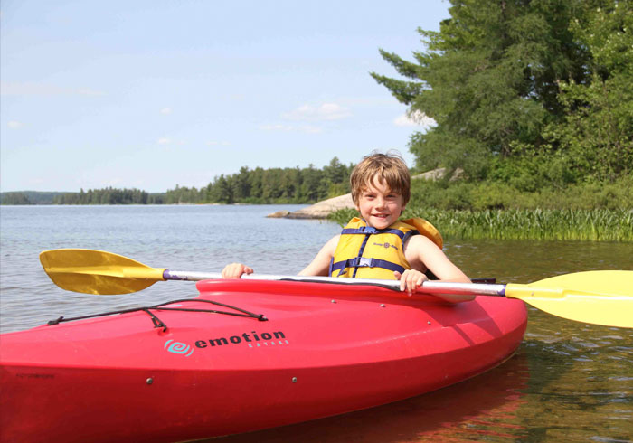 Kayaking, Hockey Opportunity Summer Camp