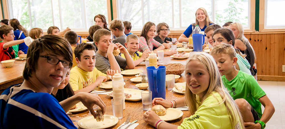 Meals at Hockey Opportunity Summer Camp, Ontario