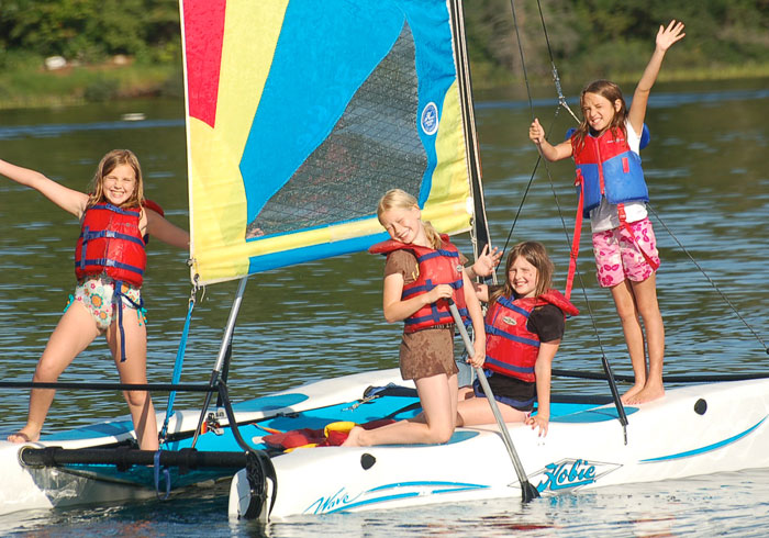 Sailing, Summer Camp For Kids, Ontario
