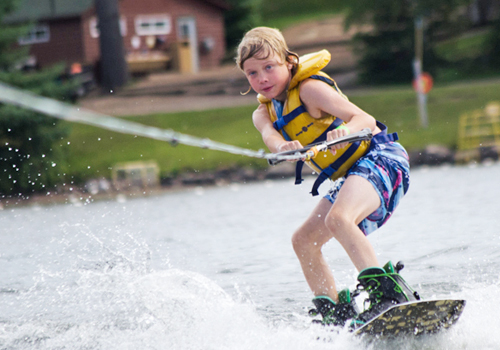 Waterskiing, Summer Camp, Ontario